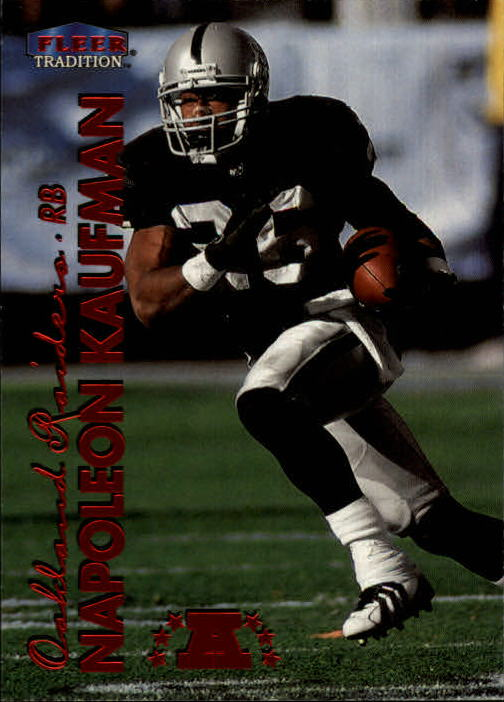 1999 Fleer Tradition #186 Napoleon Kaufman