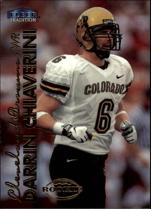 1999 Fleer Tradition #259 Darrin Chiaverini RC front image