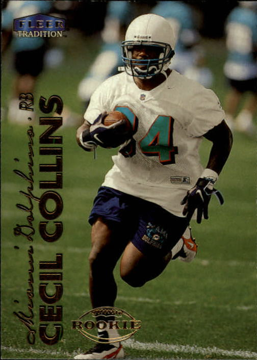 1999 Fleer Tradition #262 Cecil Collins RC
