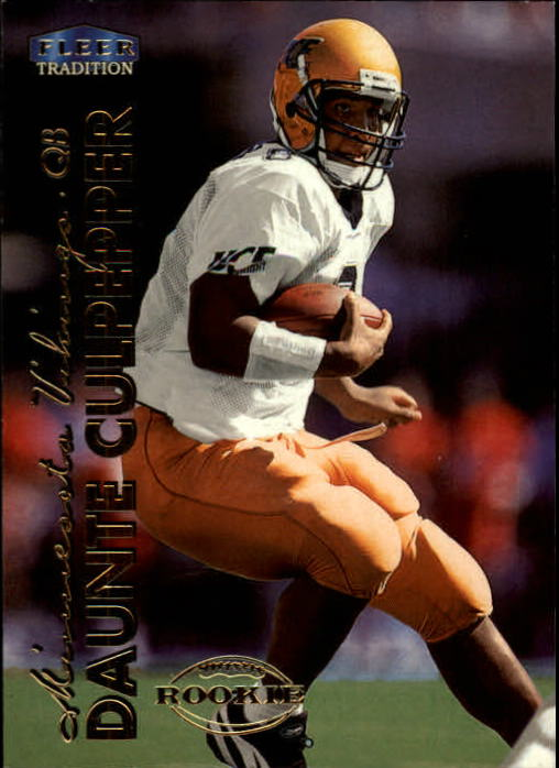 1999 Fleer Tradition #265 Daunte Culpepper RC