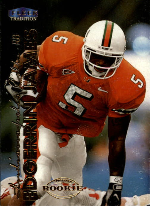 1999 Fleer Tradition #277 Edgerrin James RC