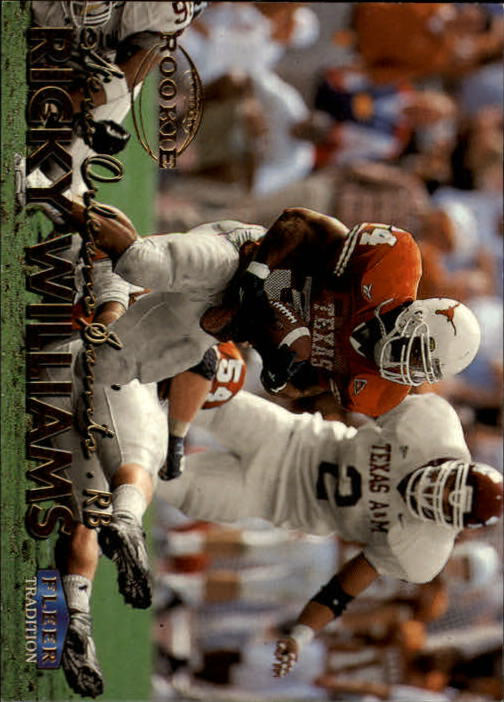 1999 Fleer Tradition #297 Ricky Williams RC