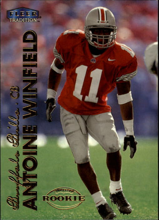 1999 Fleer Tradition #298 Antoine Winfield