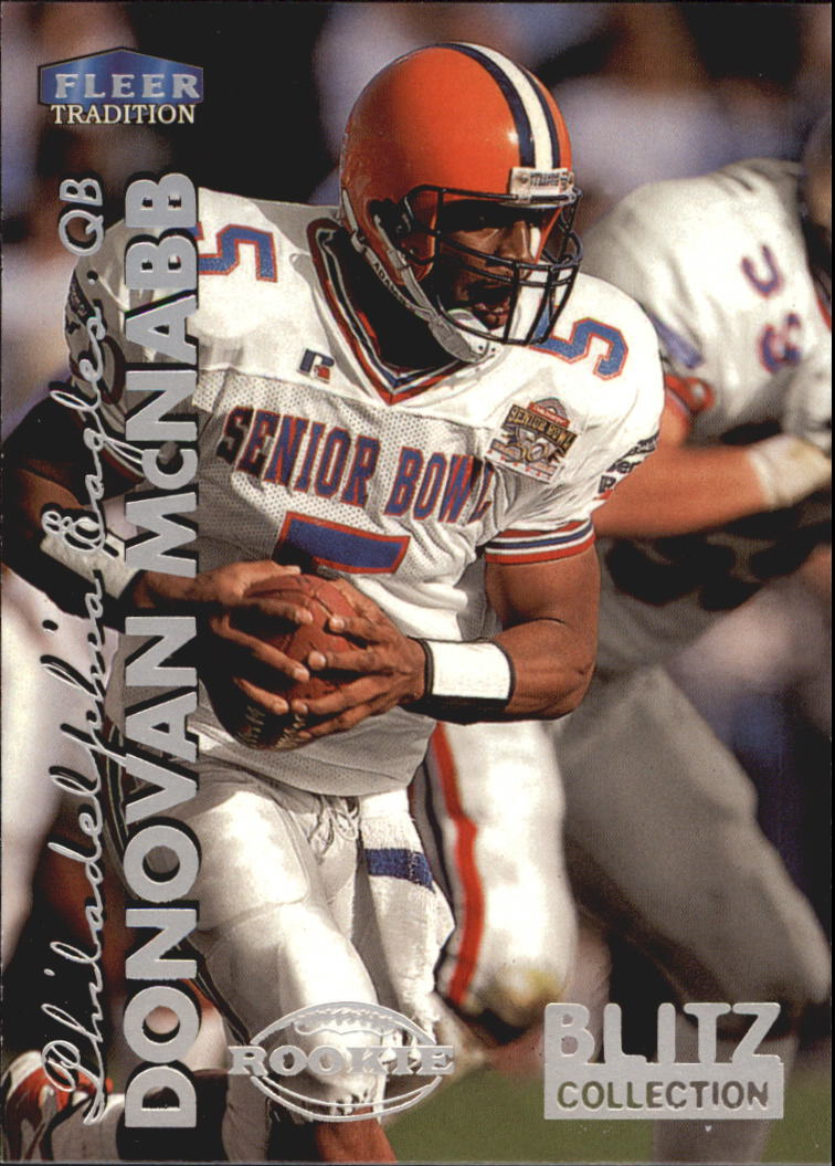 1999 Fleer Tradition Blitz Collection #288 Donovan McNabb
