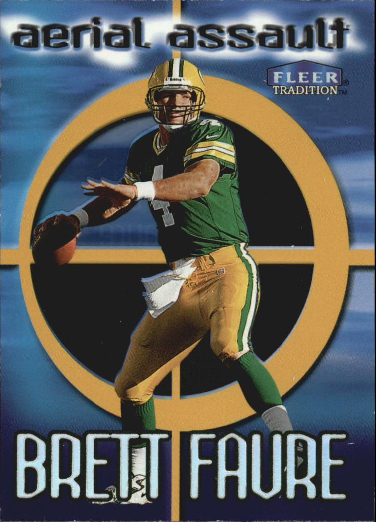1999 Fleer Tradition Aerial Assault #7 Brett Favre