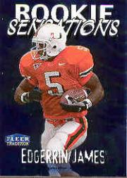 1999 Fleer Tradition Rookie Sensations #11 Edgerrin James