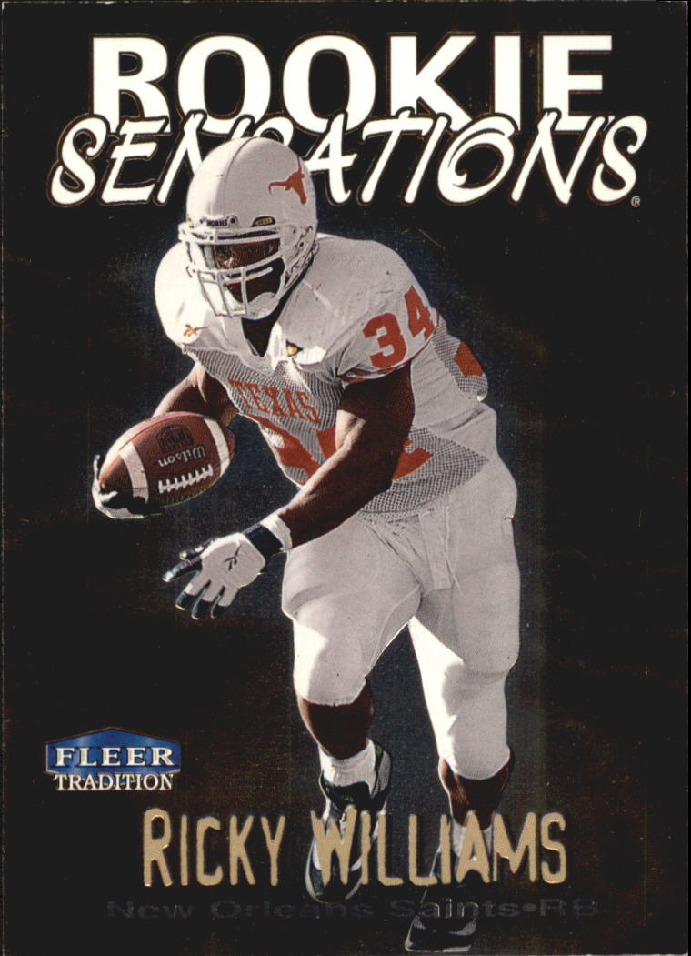 1999 Fleer Tradition Rookie Sensations #20 Ricky Williams