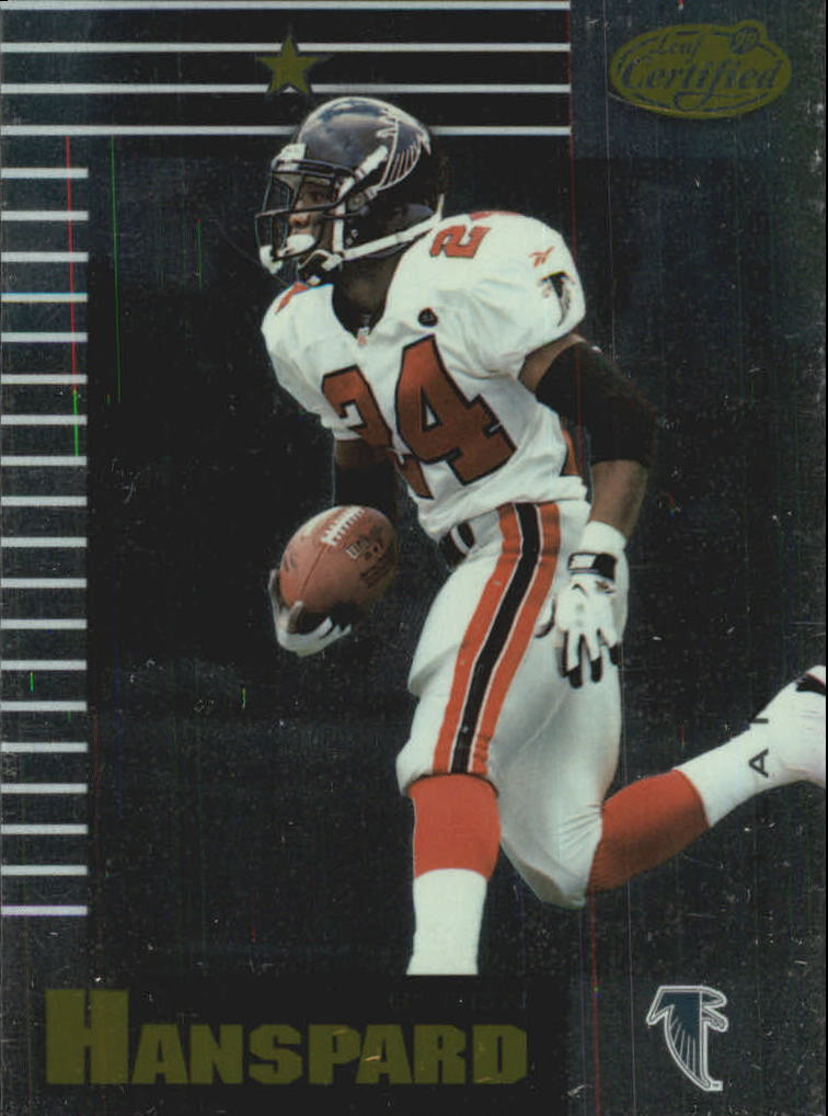1999 Leaf Certified #5 Byron Hanspard