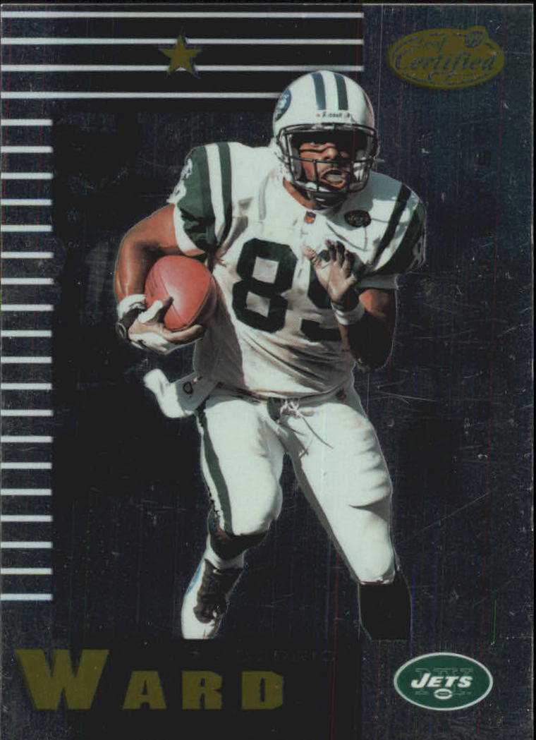 1999 Leaf Certified #70 Dedric Ward