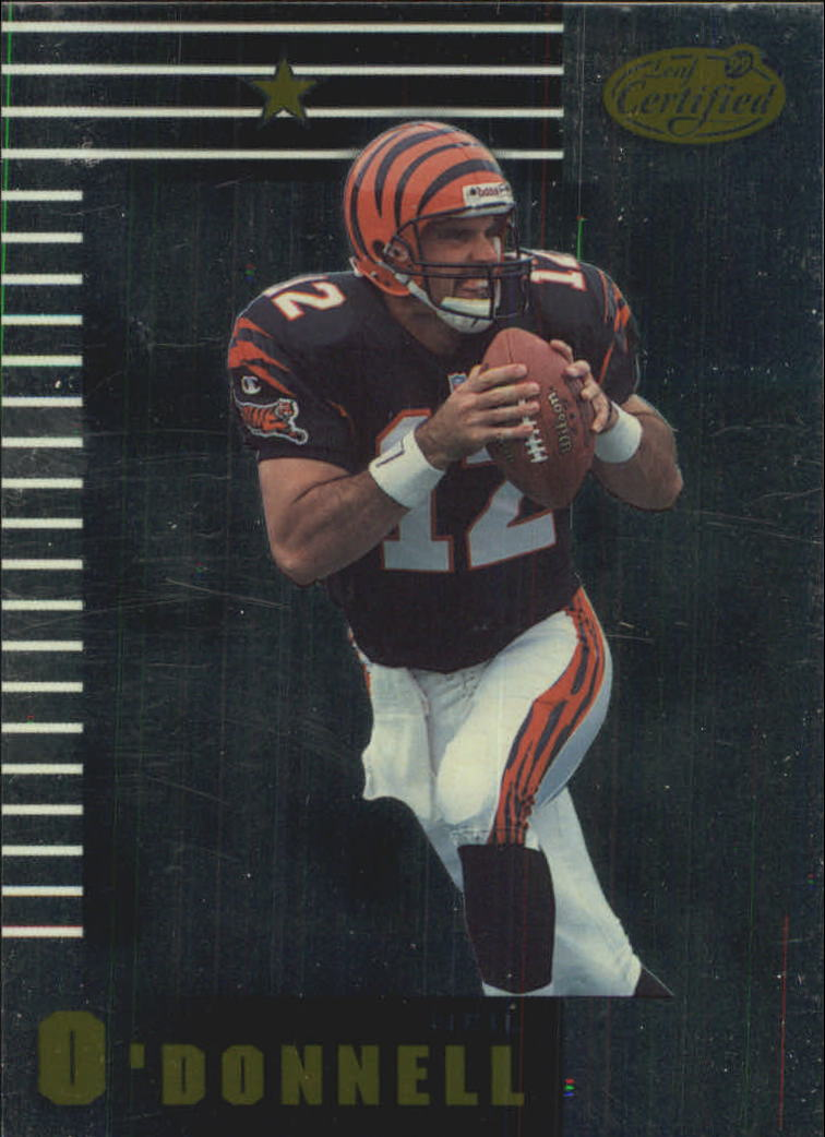 1999 Leaf Certified #72 Neil O'Donnell