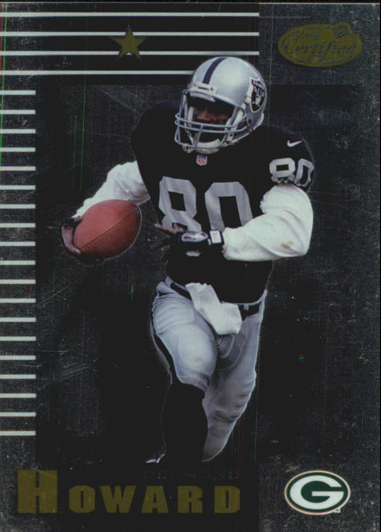 1999 Leaf Certified #73 Desmond Howard