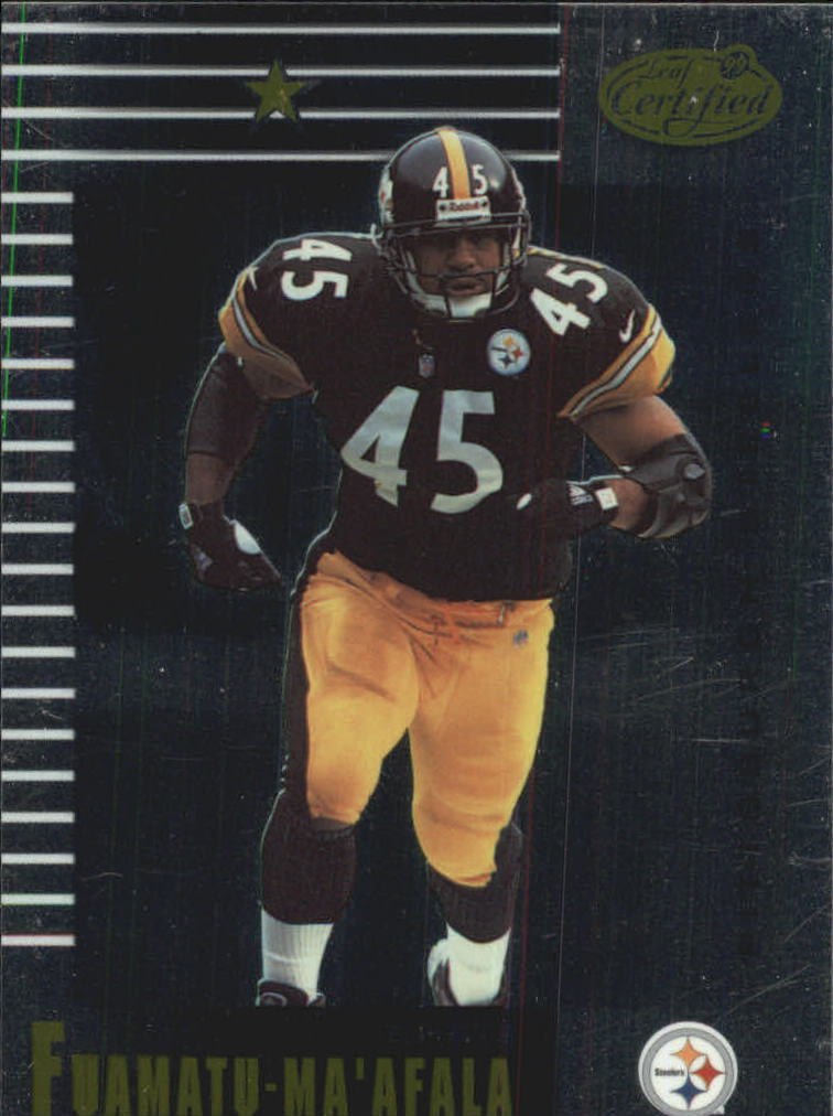 1999 Leaf Certified #78 Chris Fuamatu-Ma'afala