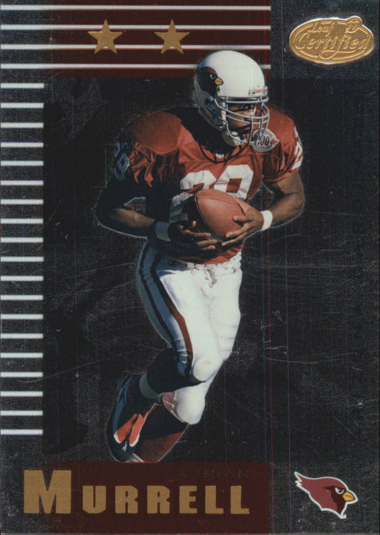 1999 Leaf Certified #102 Adrian Murrell