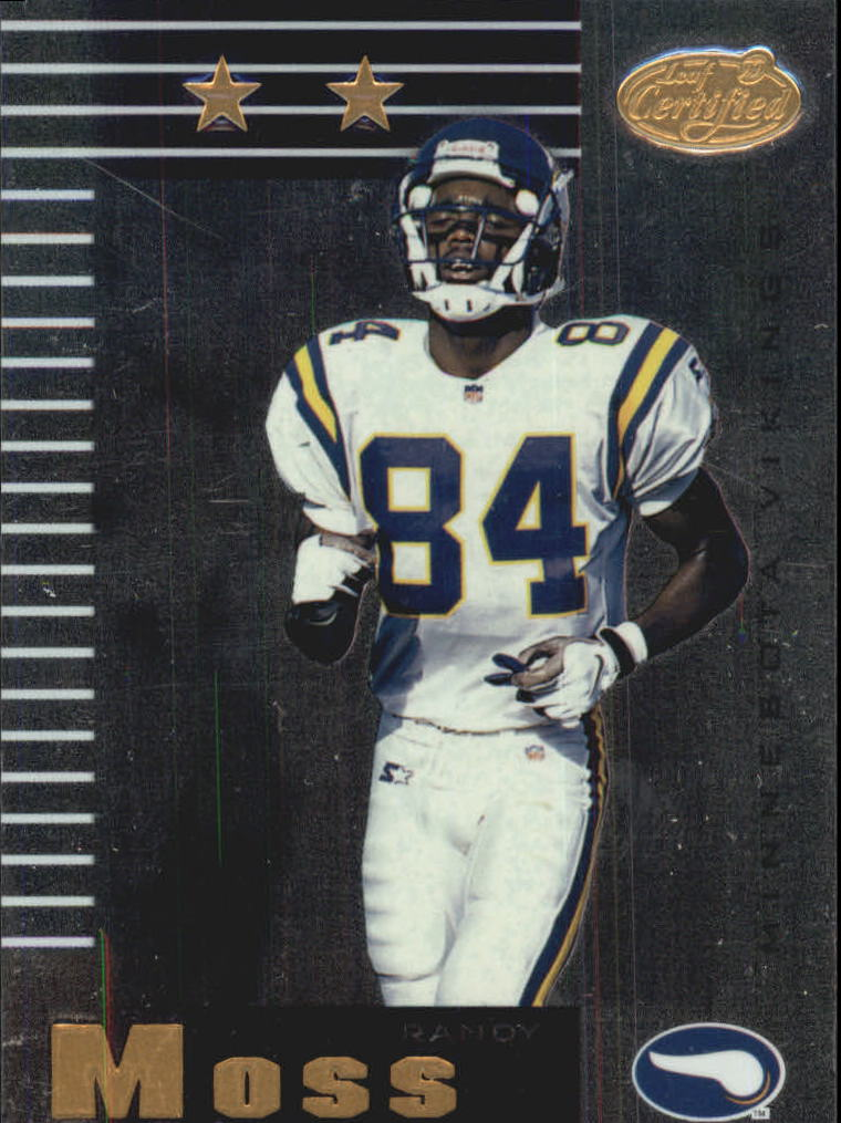 1999 Leaf Certified #128 Randy Moss