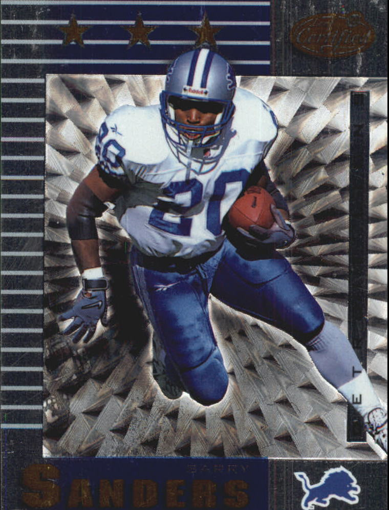 1999 Leaf Certified #159 Barry Sanders
