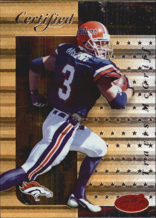 1999 Leaf Certified Gold Future #1 Travis McGriff