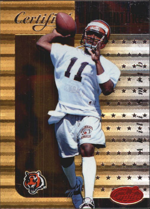 1999 Leaf Certified Gold Future #13 Akili Smith