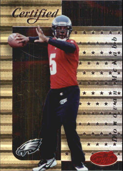 1999 Leaf Certified Gold Future #20 Donovan McNabb
