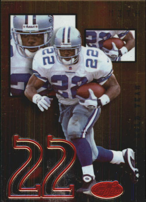 1999 Leaf Certified Gold Team #CGT22 Emmitt Smith