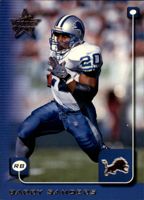 1999 Leaf Rookies and Stars #71 Barry Sanders