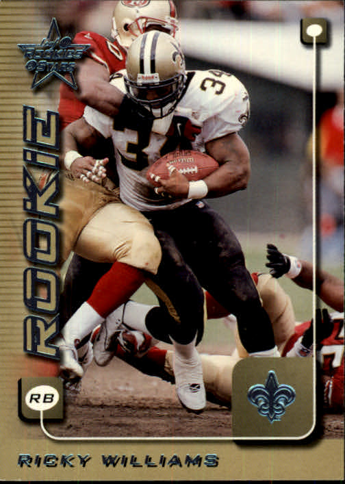 1999 Leaf Rookies and Stars #265 Ricky Williams RC