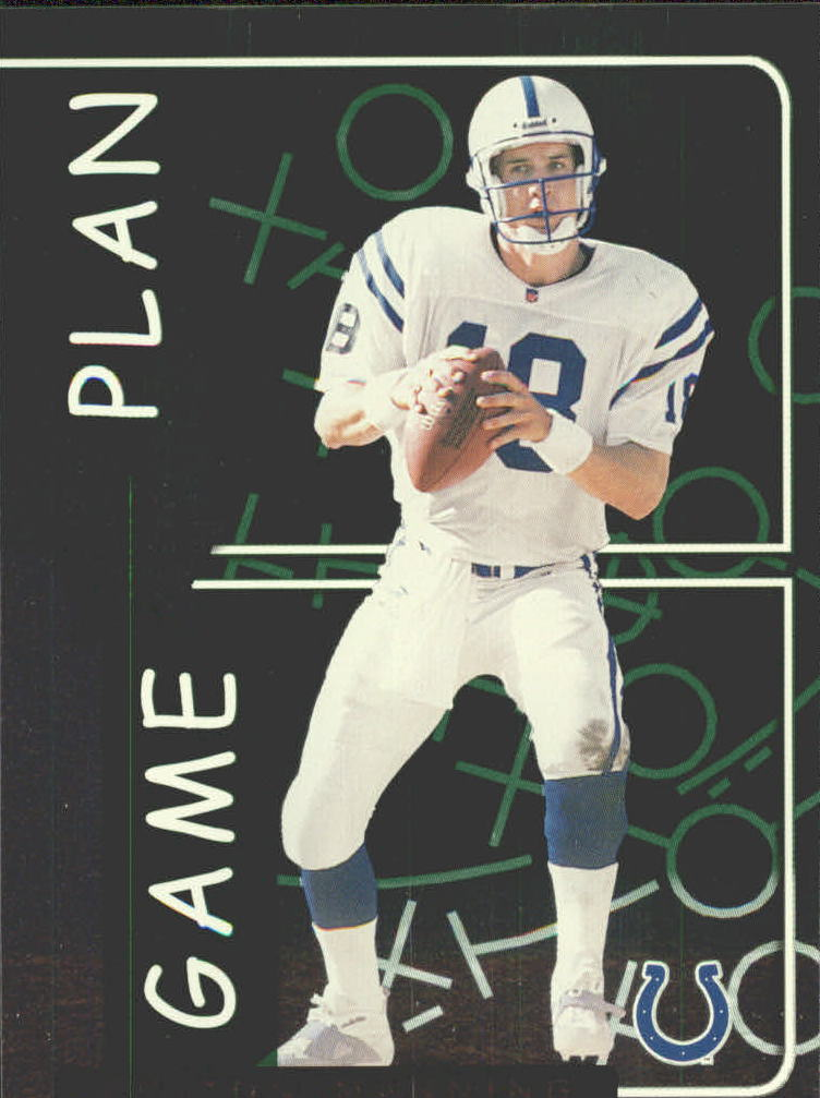 1999 Leaf Rookies and Stars Game Plan #GP16 Peyton Manning