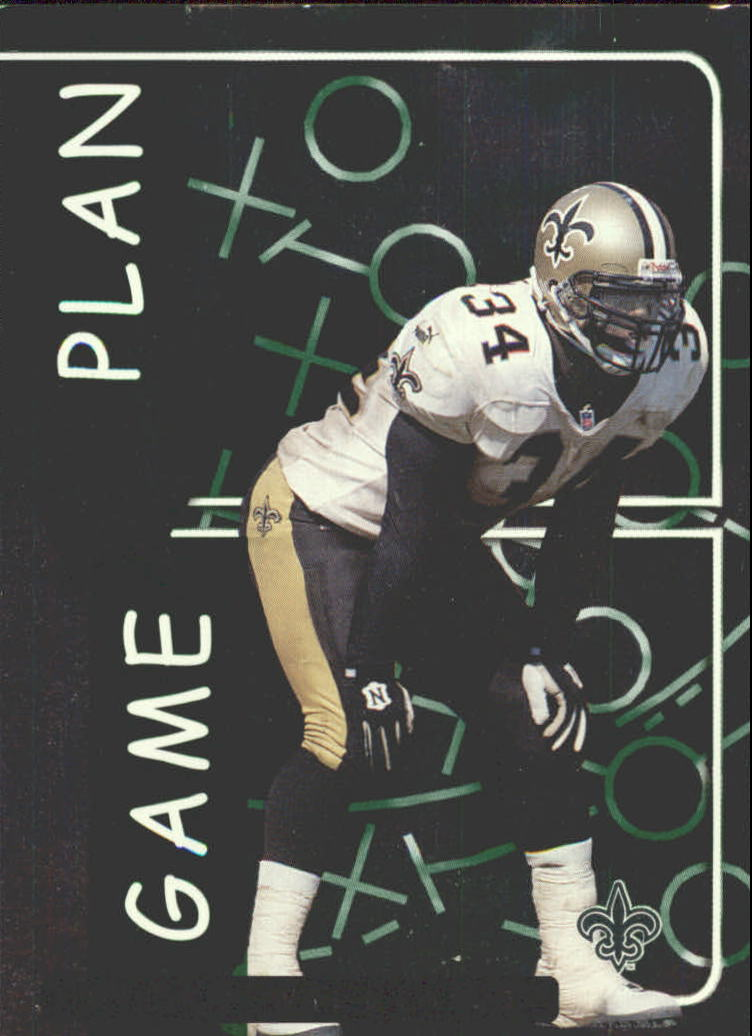 1999 Leaf Rookies and Stars Game Plan #GP24 Ricky Williams