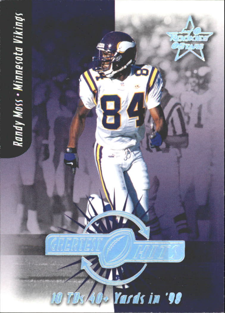 1999 Leaf Rookies and Stars Greatest Hits #GH16 Randy Moss