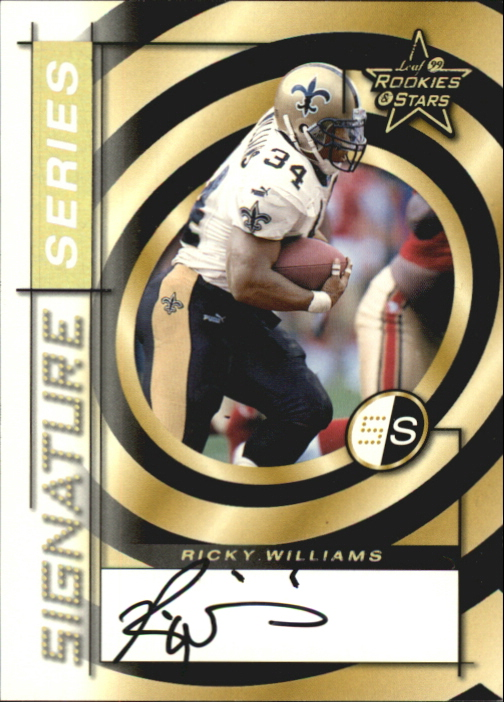 1999 Leaf Rookies and Stars Signature Series #SS5 Ricky Williams