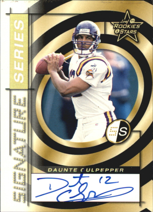1999 Leaf Rookies and Stars Signature Series #SS11 Daunte Culpepper