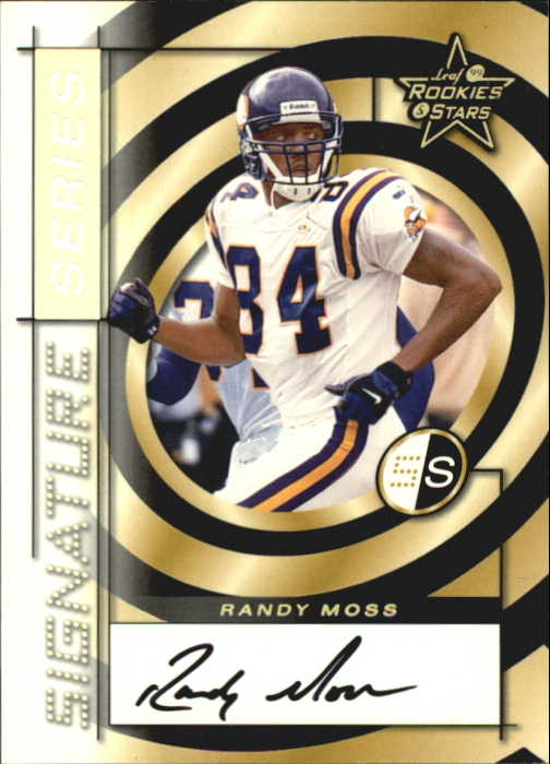 1999 Leaf Rookies and Stars Signature Series #SS16 Randy Moss