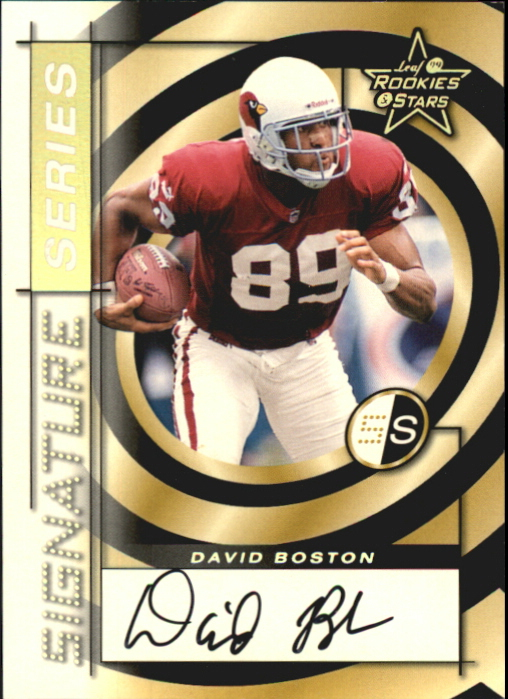 1999 Leaf Rookies and Stars Signature Series #SS23 David Boston