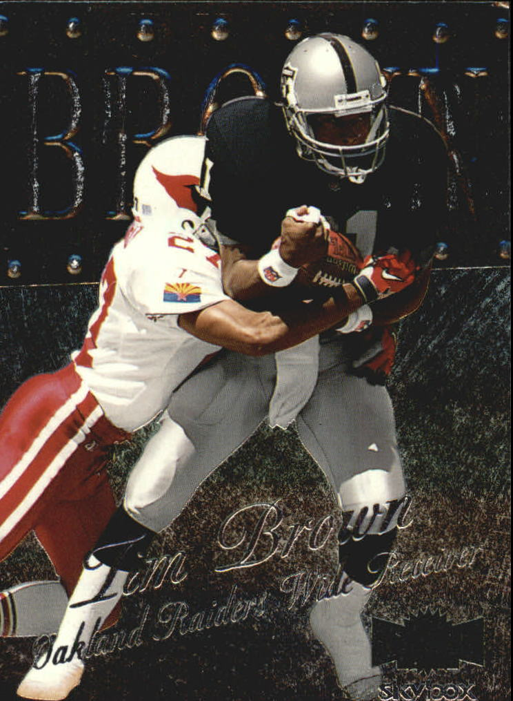1999 Metal Universe #27 Tim Brown