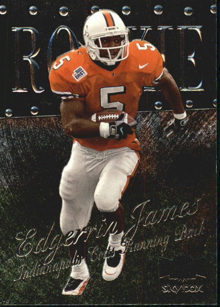 1999 Metal Universe #219 Edgerrin James RC