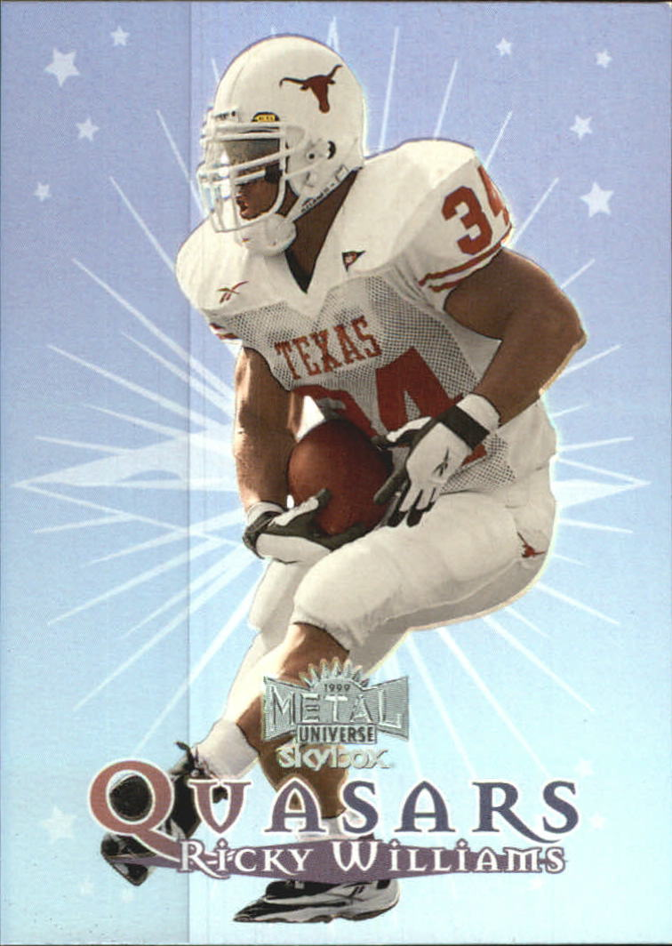 1999 Metal Universe Quasars #QS1 Ricky Williams