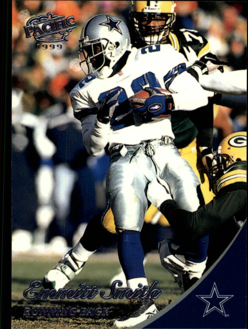 1999 Pacific #117 Emmitt Smith front image