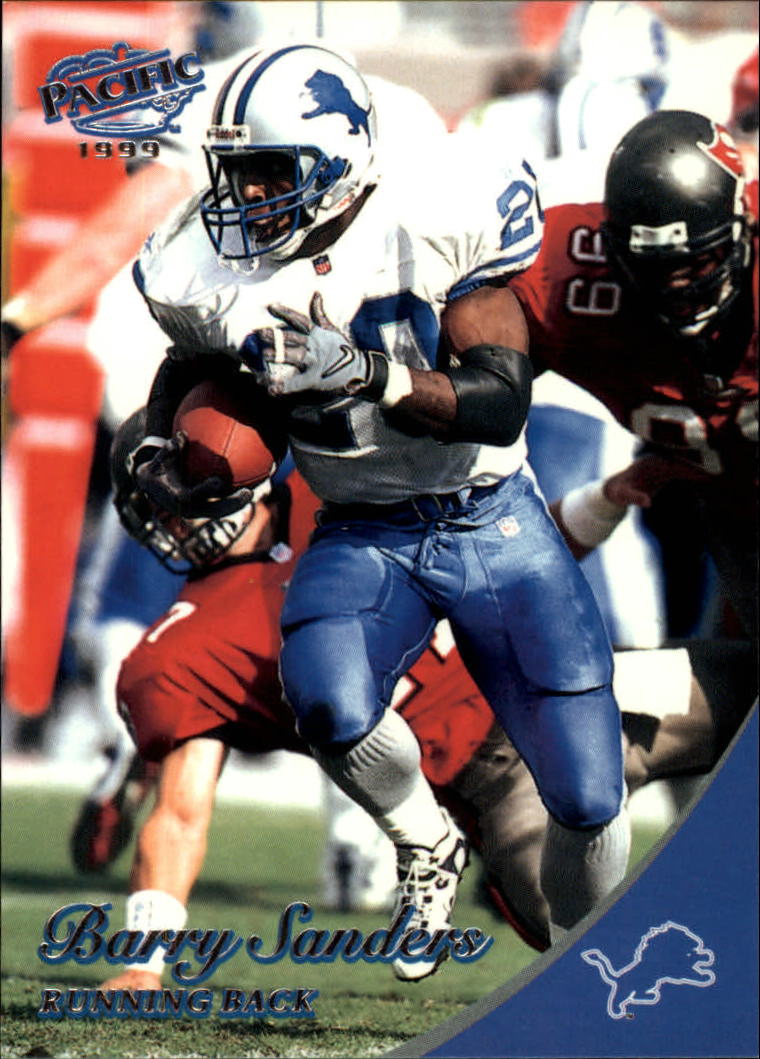 1999 Pacific #144 Barry Sanders