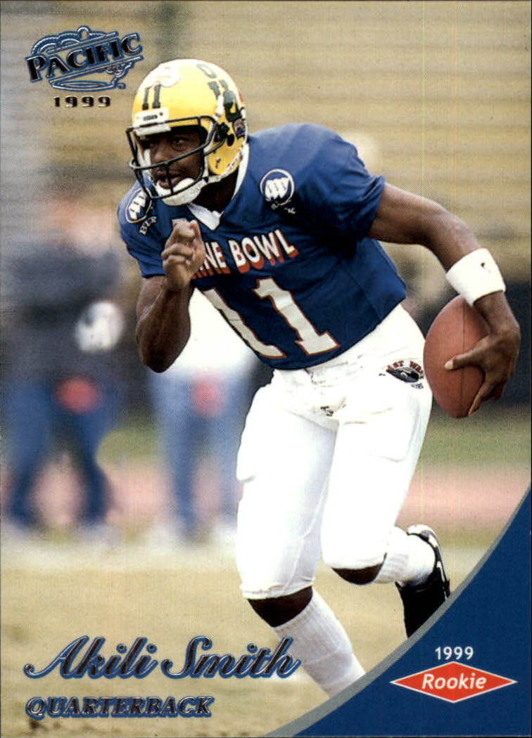 1999 Pacific #447 Akili Smith RC