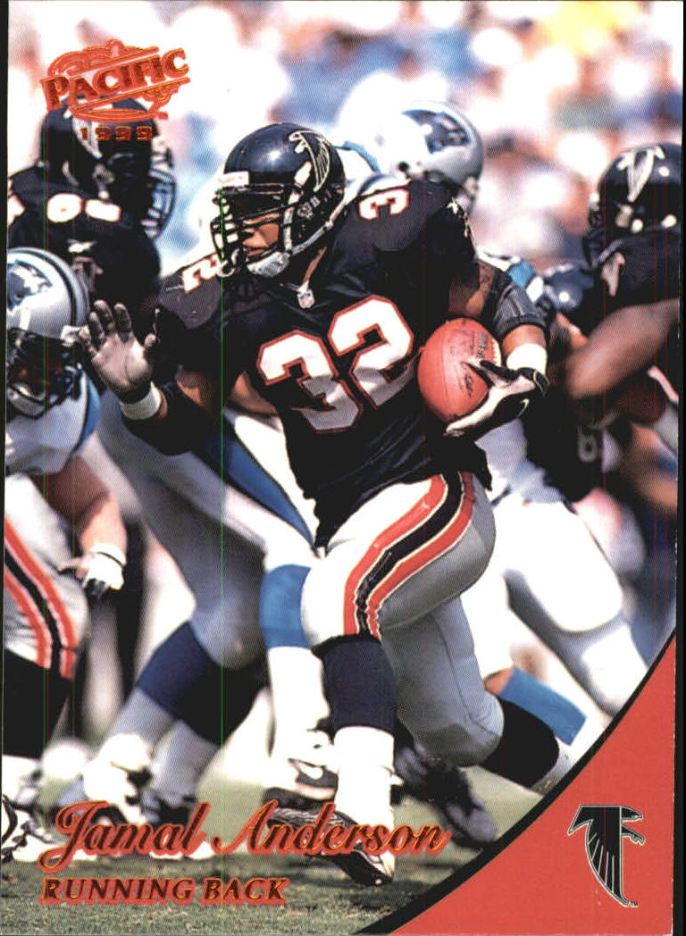 1999 Pacific Copper #16 Jamal Anderson