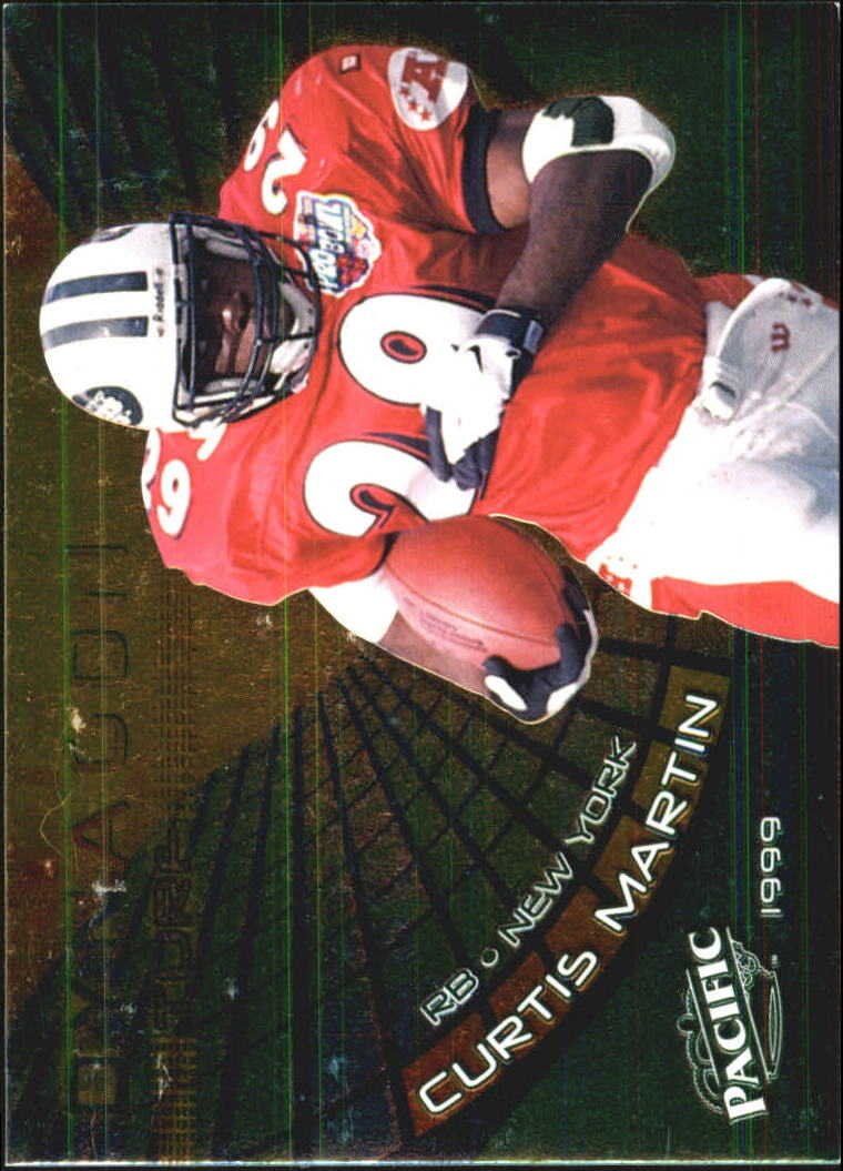 1999 Pacific Dynagon Turf #16 Curtis Martin