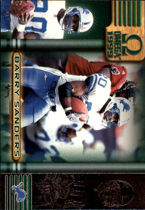 1999 Pacific Omega #89 Barry Sanders