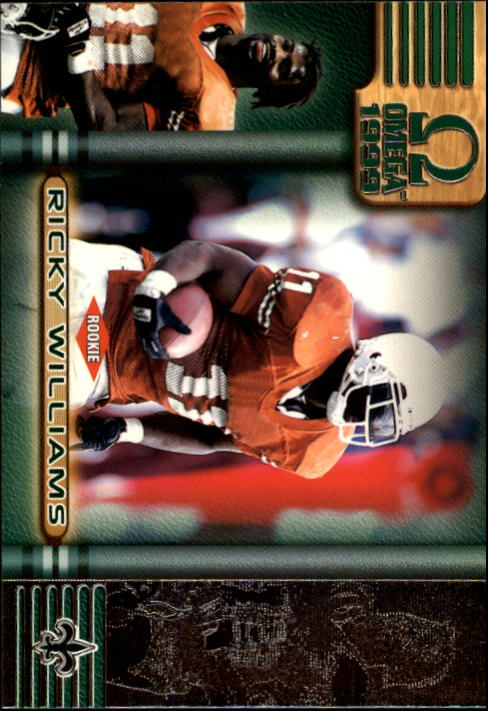 1999 Pacific Omega #153 Ricky Williams RC
