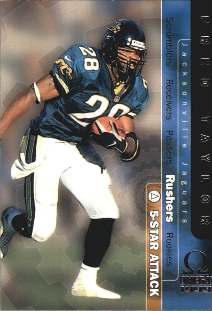 1999 Pacific Omega 5-Star Attack #16 Fred Taylor