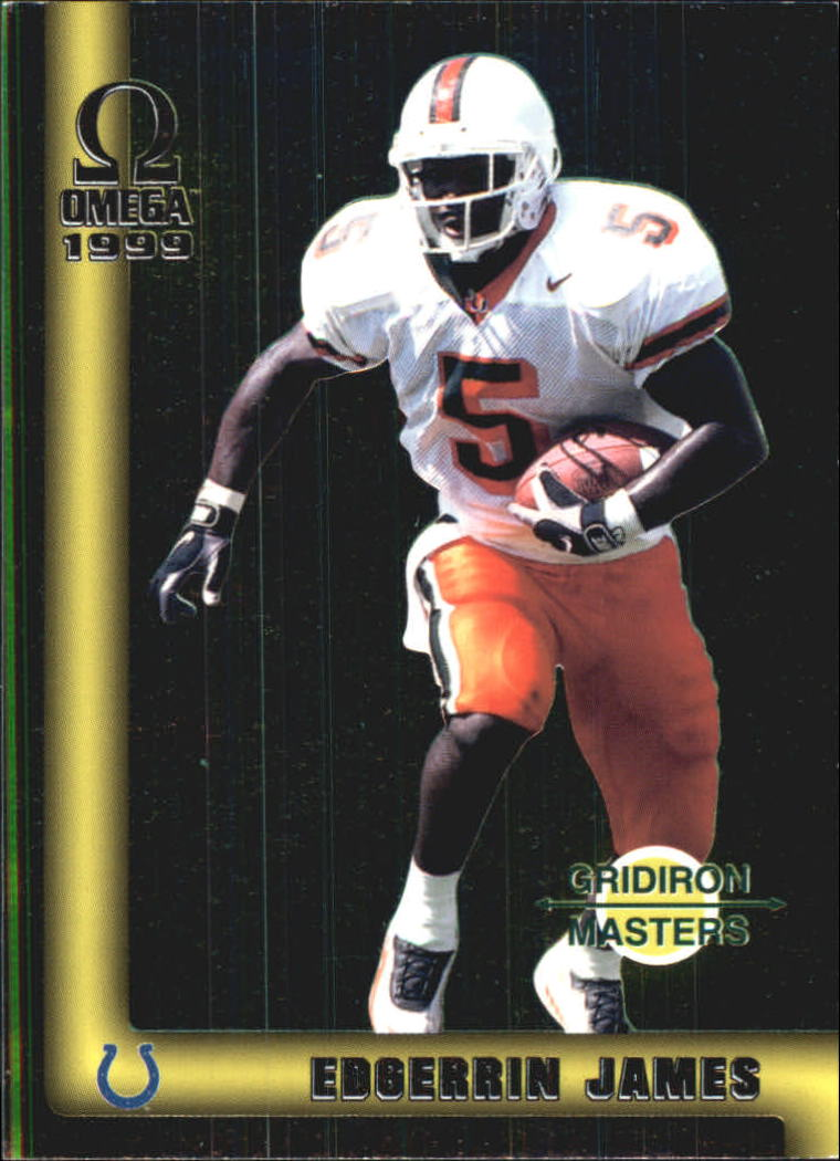1999 Pacific Omega Gridiron Masters #17 Edgerrin James
