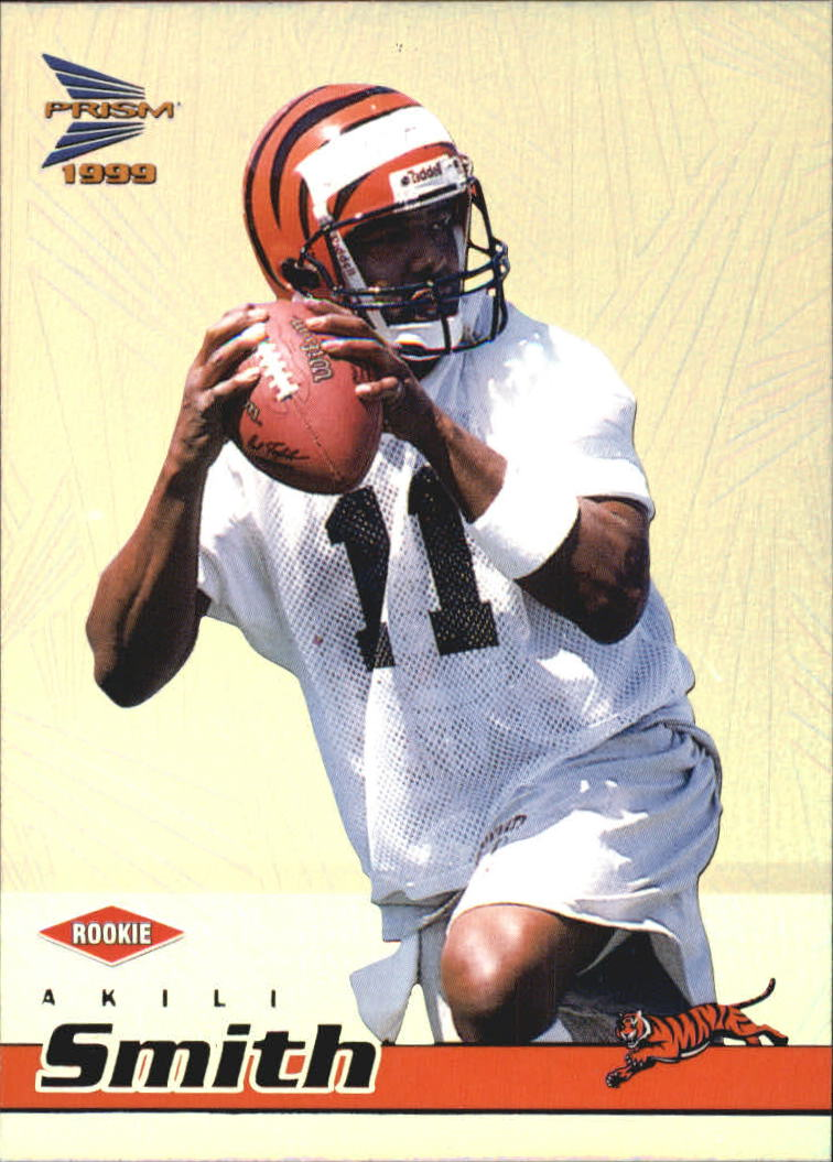 1999 Pacific Prisms #32 Akili Smith RC