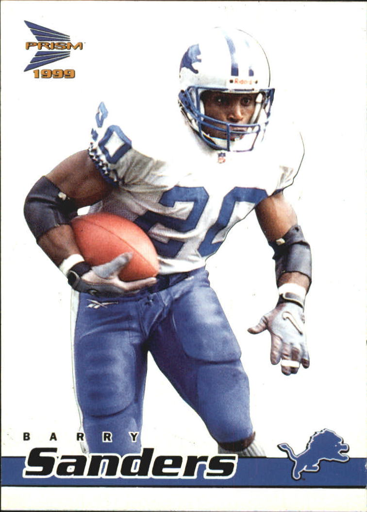 1999 Pacific Prisms #54 Barry Sanders