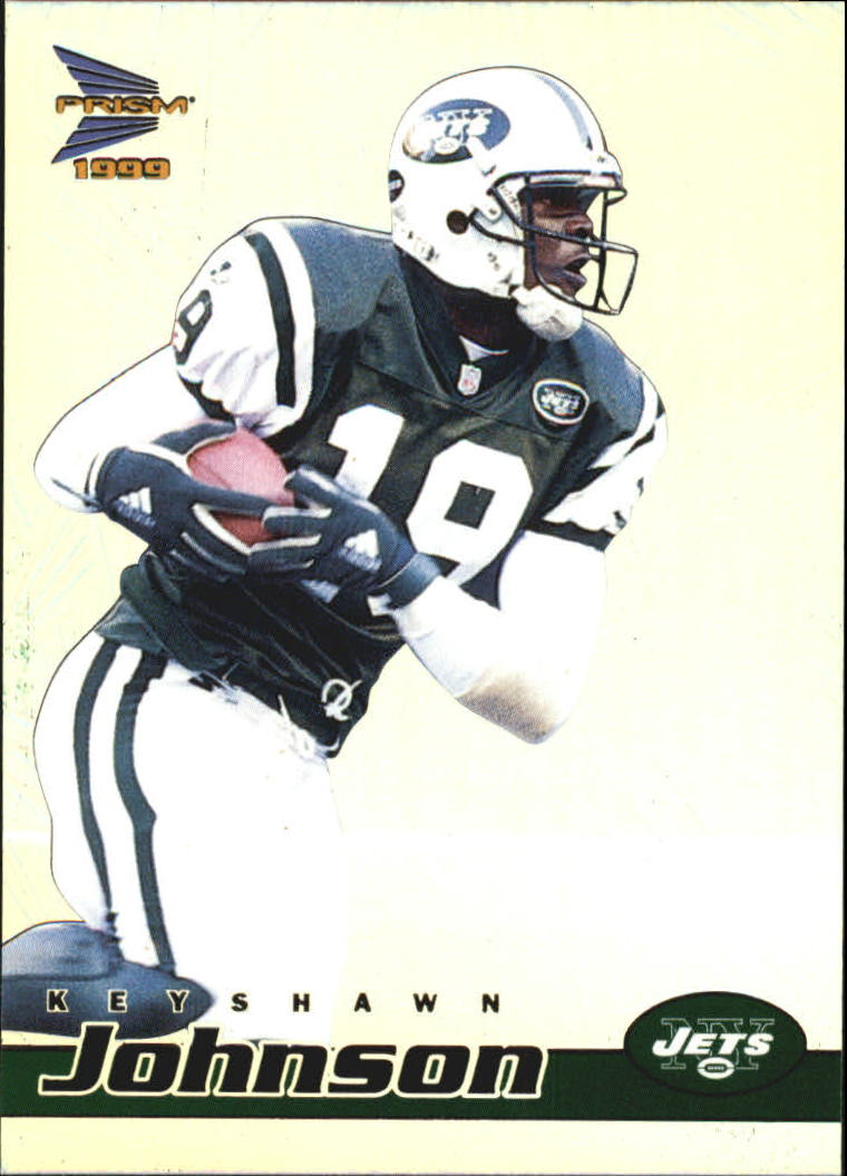 1999 Pacific Prisms #100 Keyshawn Johnson