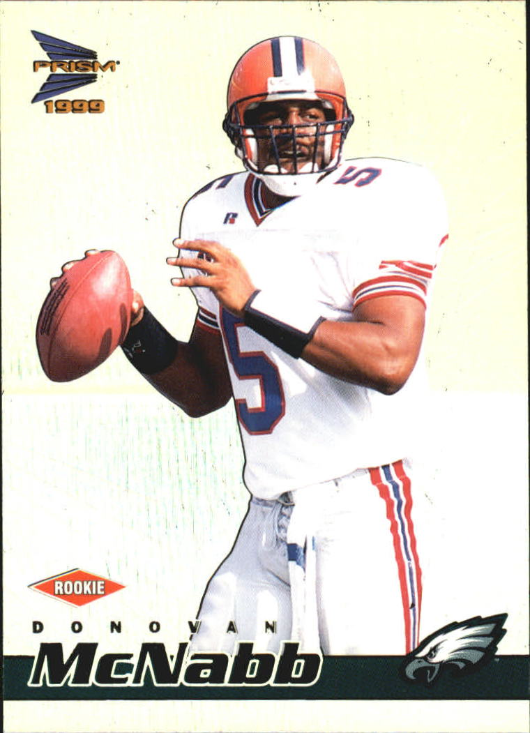 1999 Pacific Prisms #108 Donovan McNabb RC