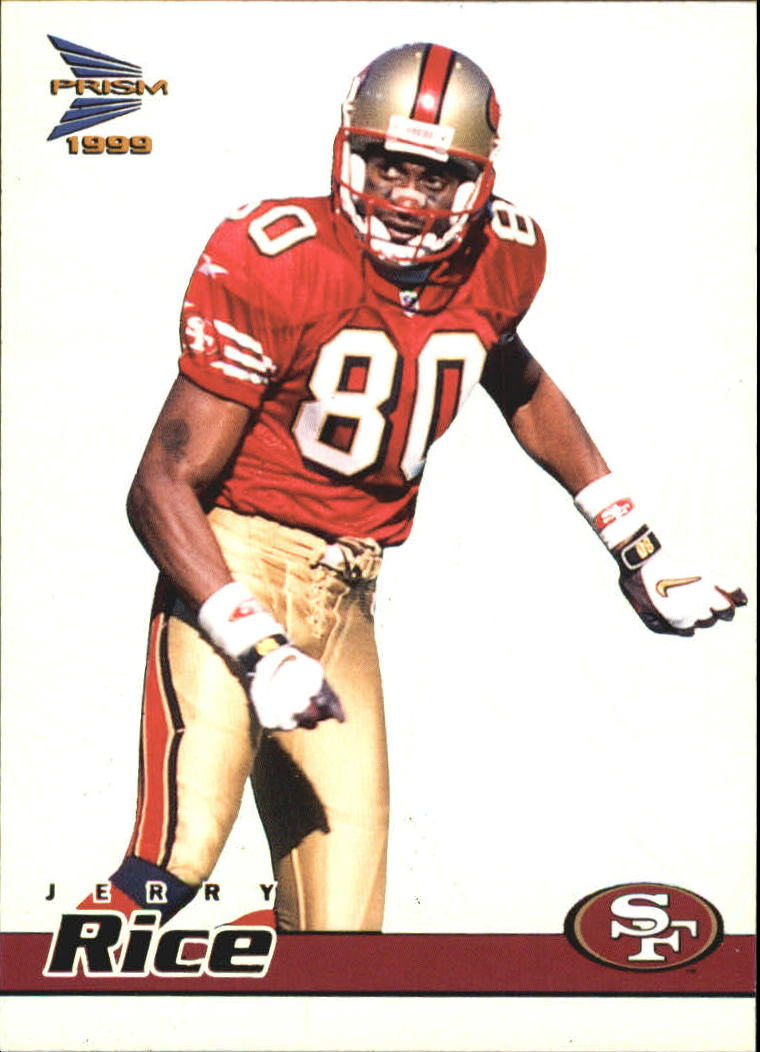 1999 Pacific Prisms #128 Jerry Rice