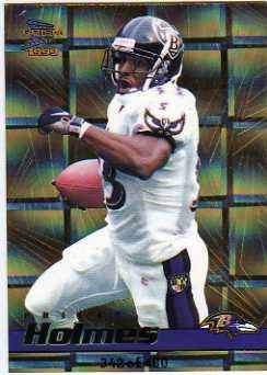 1999 Pacific Prisms Holographic Gold #11 Priest Holmes